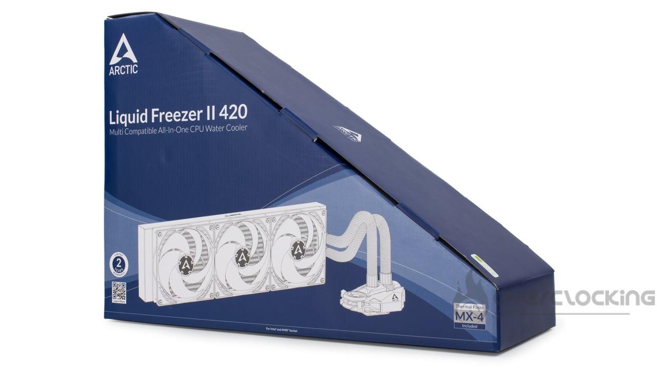 Arctic Liquid Freezer II 420 rev 4.0 boîte