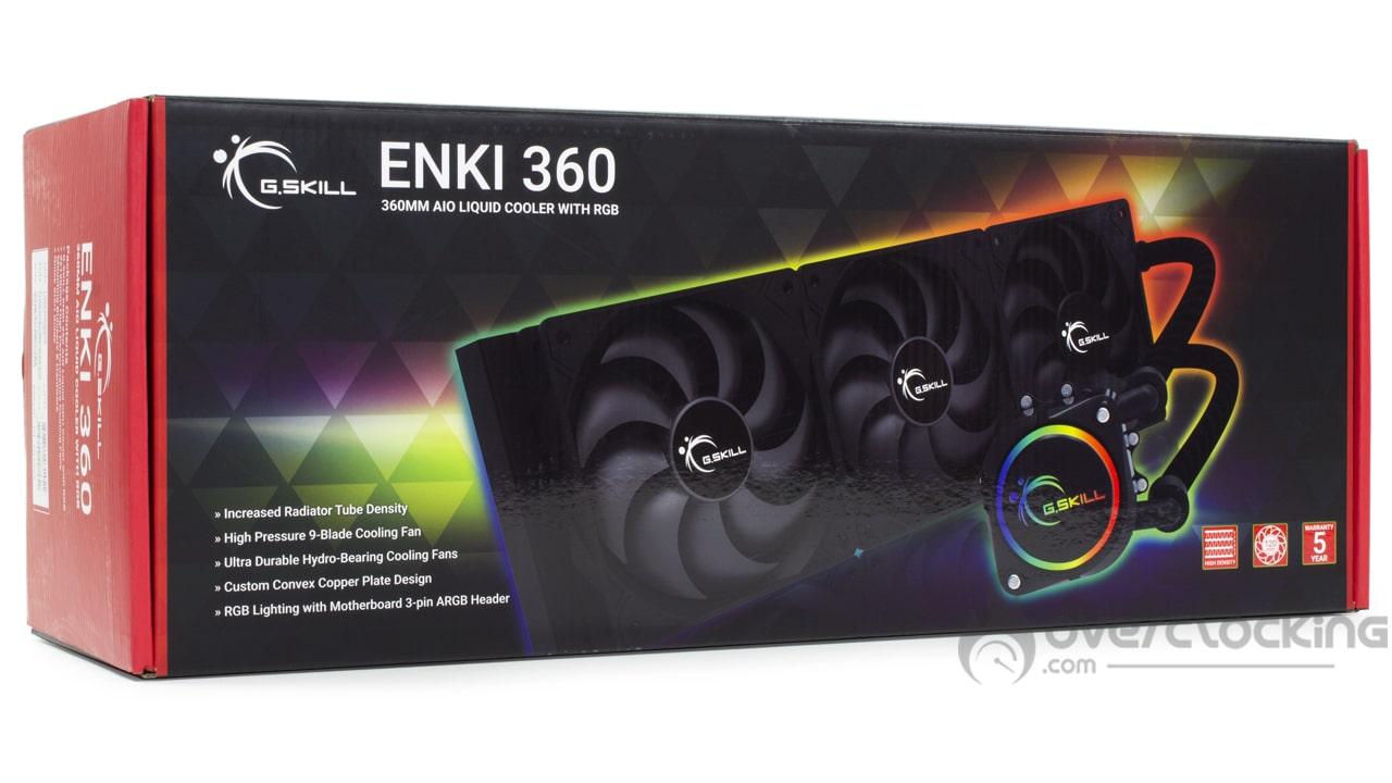 G.Skill Enki 360 boîte