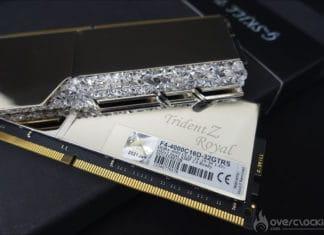 GSKill TridentZ Royal 32 GB 4000 CL16