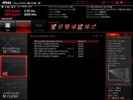 Load-Line Calibration Z590 ACE