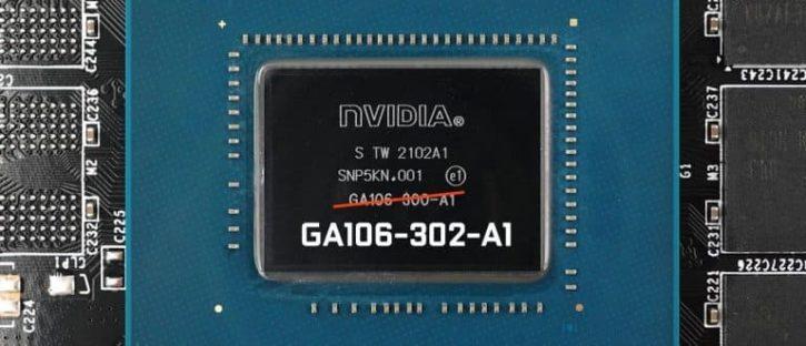 Nouvelle RTX 3060