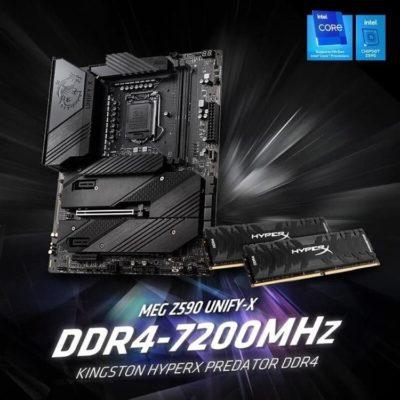 HyperX Predator 7200 MHz