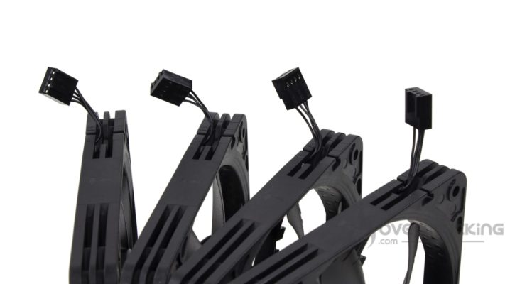 Noctua NF-A12x15 PWM chromax.black.swap câbles