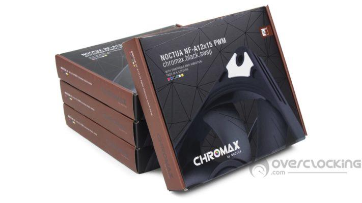 Noctua NF-A12x15 PWM chromax.black.swap boite
