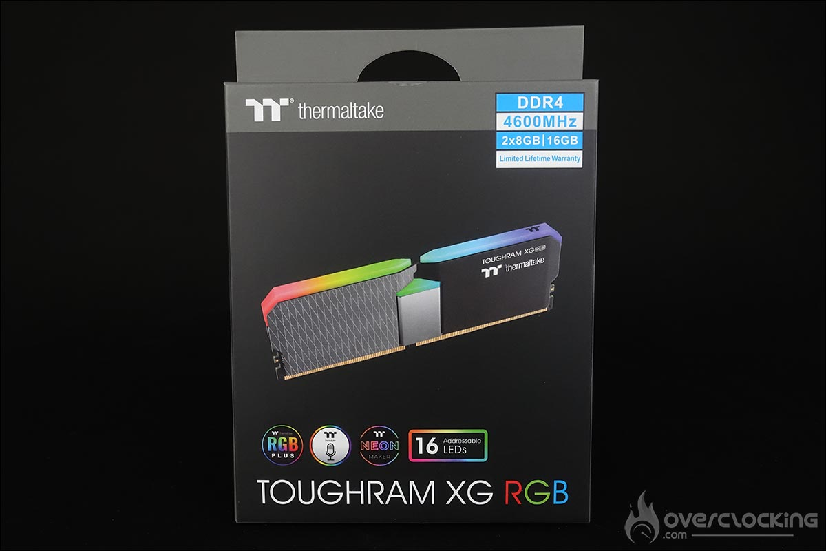 Kit mémoire Thermaltake Toughram XG RGB
