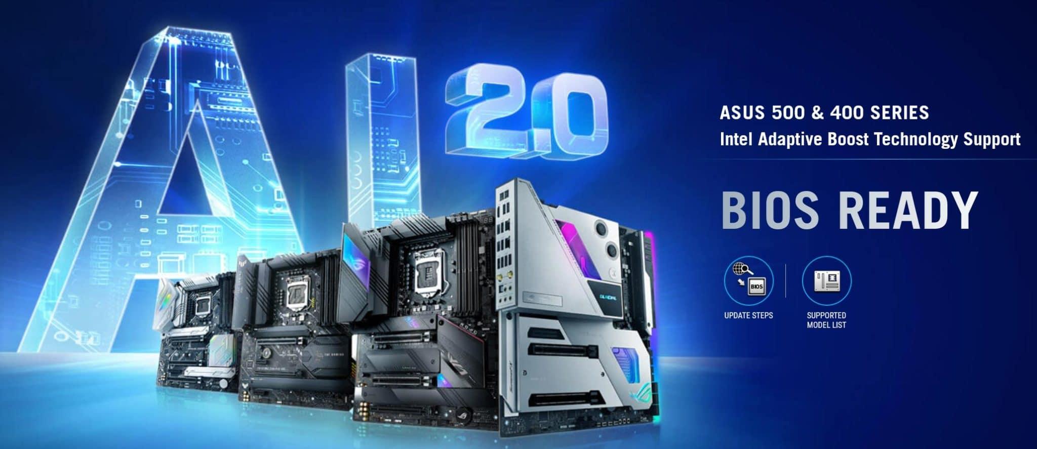Asus optimise ABT pour le Z490 et Z590