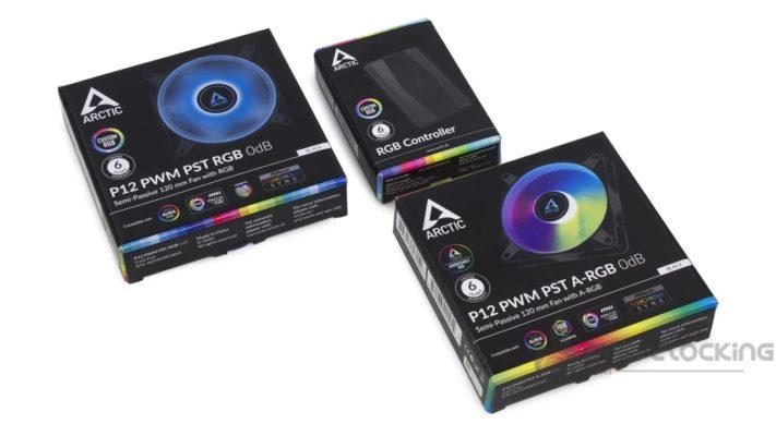 Arctic P12 PWM PST RGB boîte