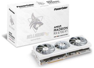 PowerColor RX 6700 XT Hellound Arctic White