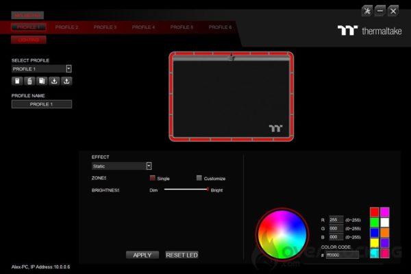 Thermaltake Argent MP1 RGB - TT iTAKE Engine