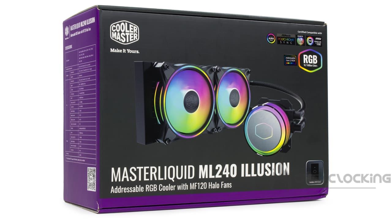 Cooler Master MasterLiquid ML240 Illusion boîte