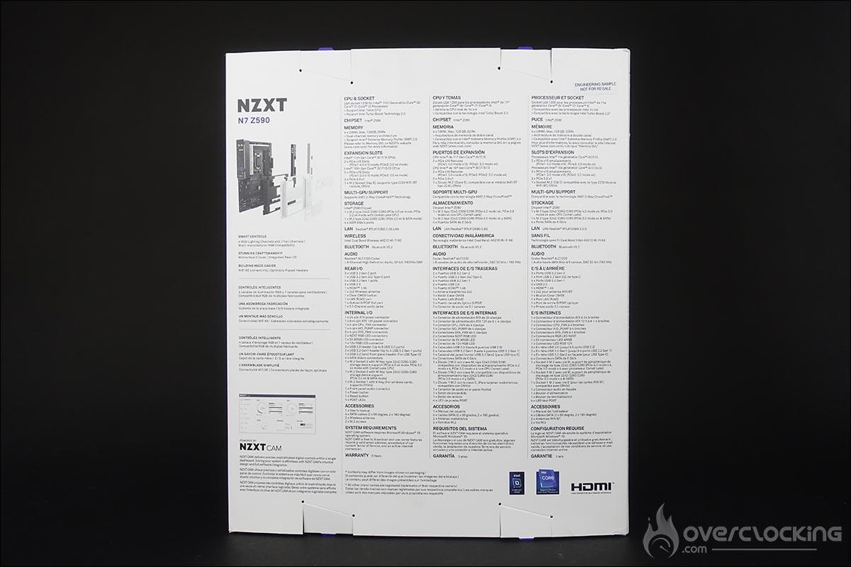 Carte mère NZXT N7 Z590