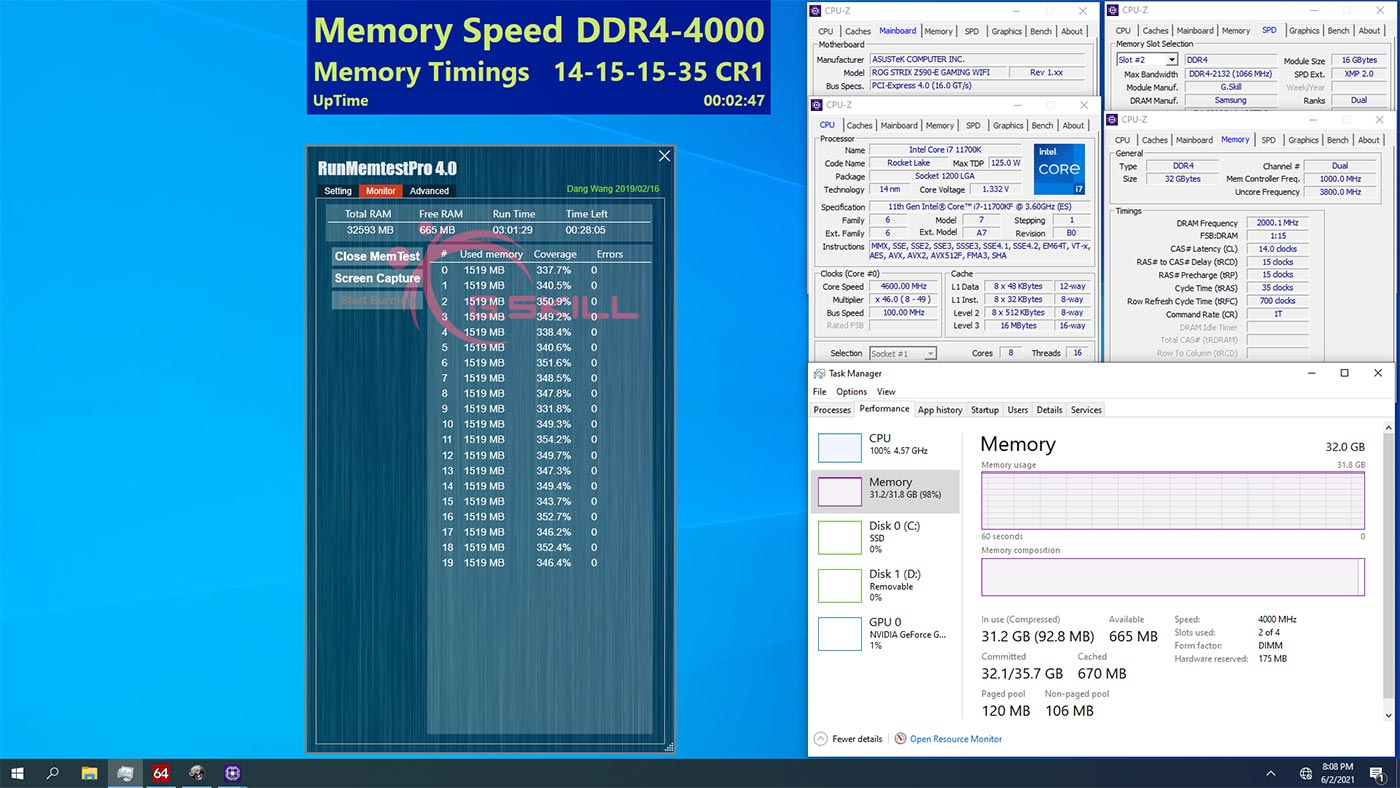 Trident Z Royal Elite 4000 C14 de 32 GB