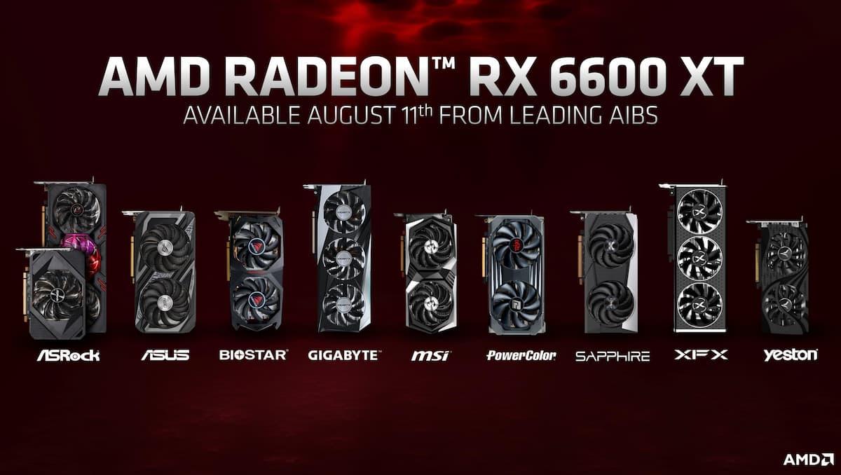 RX 6600 XT aib