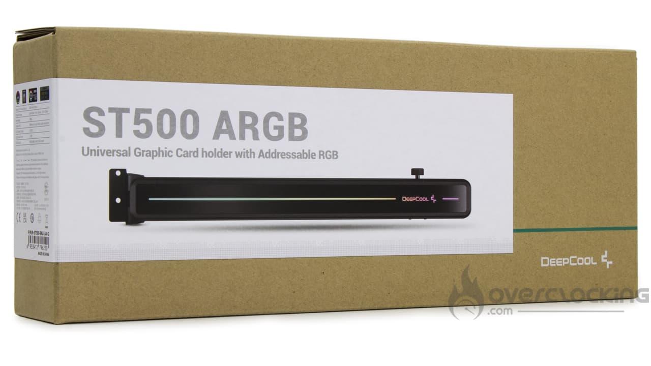 DeepCool ST500 ARGB boîte