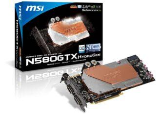 MSI GTX 580 Hydrogen