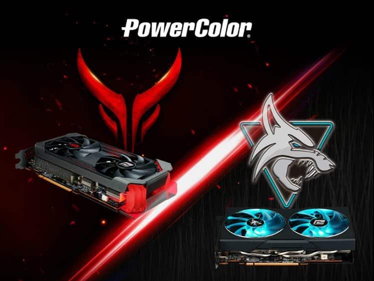 PowerColor RX 6600 XT Red Devil & Hellhound