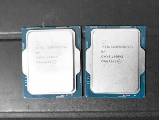 CPU Alder Lake