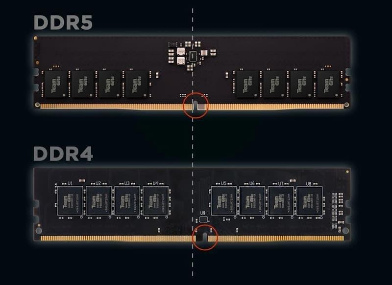 DDR5 vs DDR4