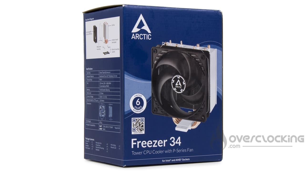 Arctic Freezer 34 boîte