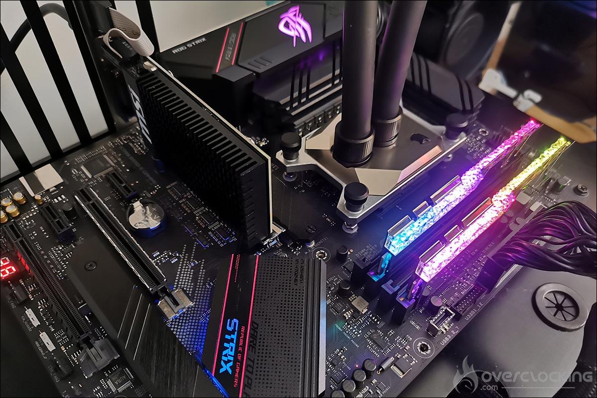 Asus Rog B550-E Strix Gaming
