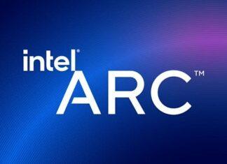 Logo intel arc