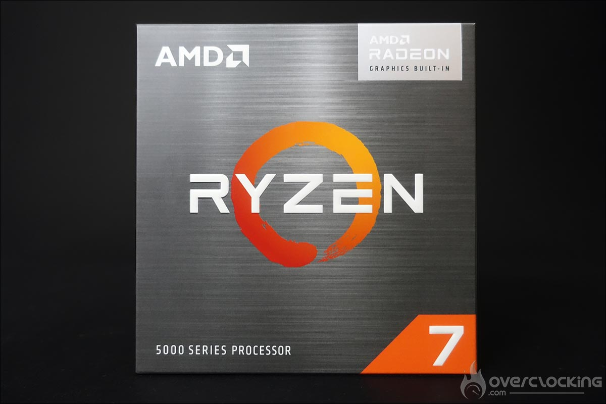 AMD Ryzen 7 5700G - Ryzen 5000G