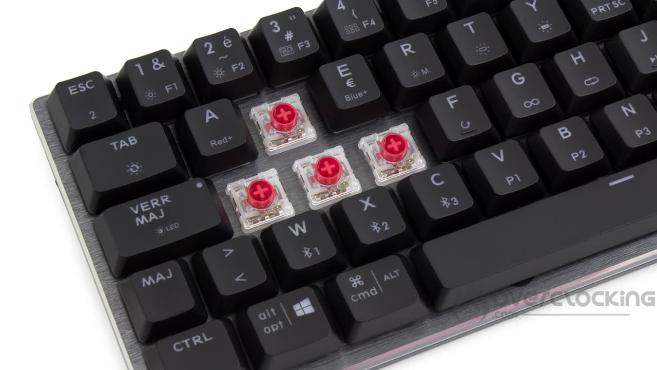 Cooler Master SK622 switches