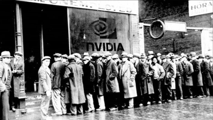 nvidia GPU shortage