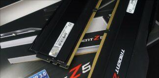 Le kit mémoire GSKill Trident Z5 DDR5 5600 MHz CL36