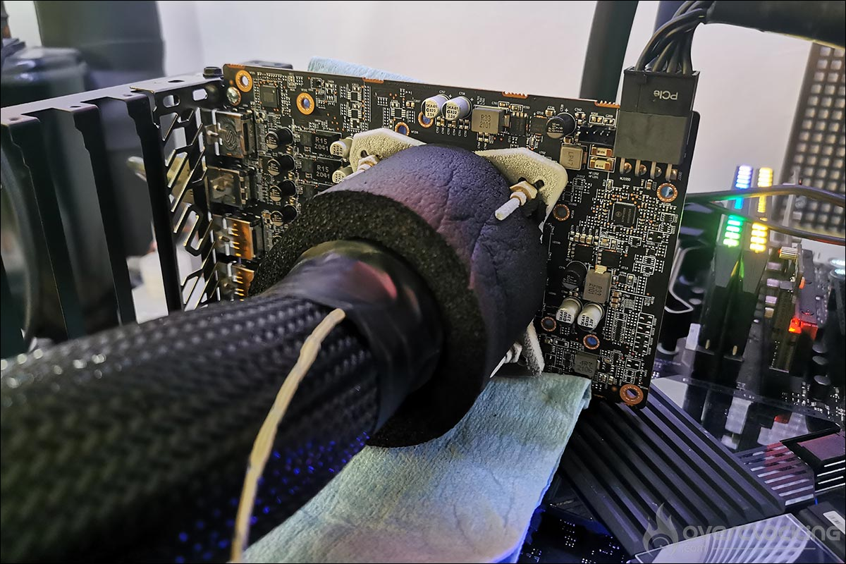 Sapphire RX 6600 Pulse sous froid DOD