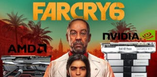 Benchmark 10 GPU sur le nouveau Far Cry 6